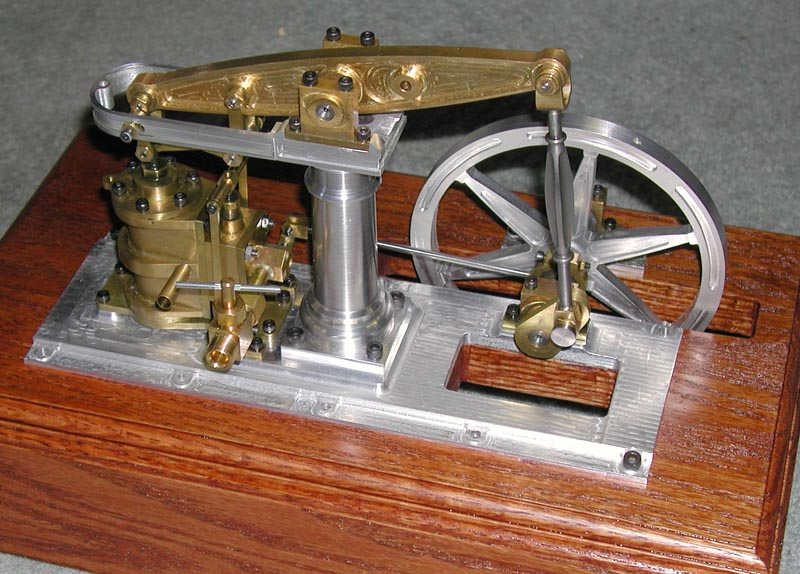 "Project: ""Baby Beam"" Steam Engine Model by Alan Marconette ..."