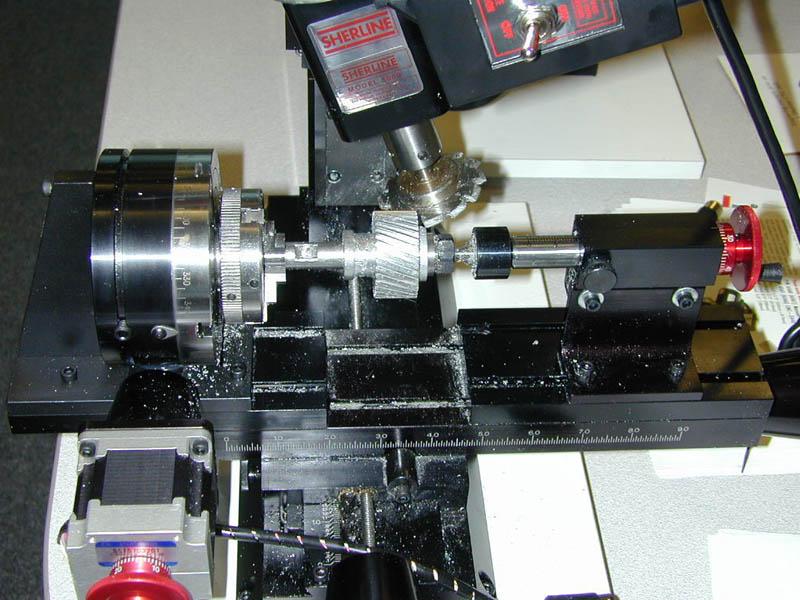 Cutting a Helical Gear by Joe Martin - Millhill Supplies Ltd
